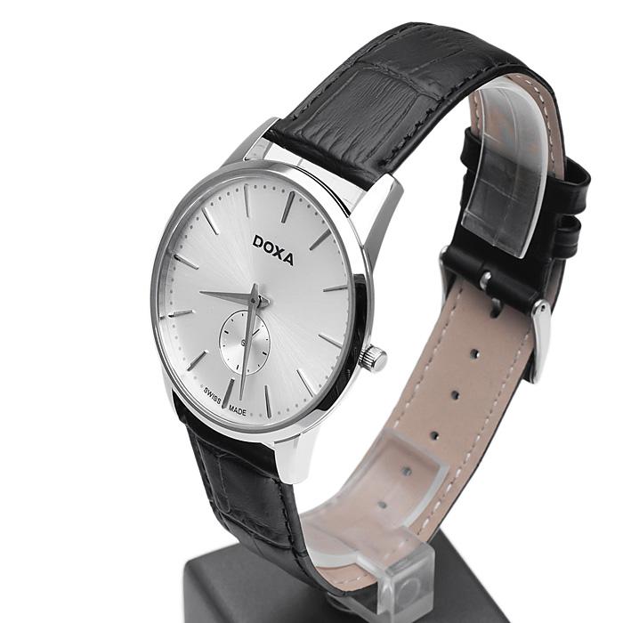 zegarek Doxa 105.10.021.01 srebrny Slim Line