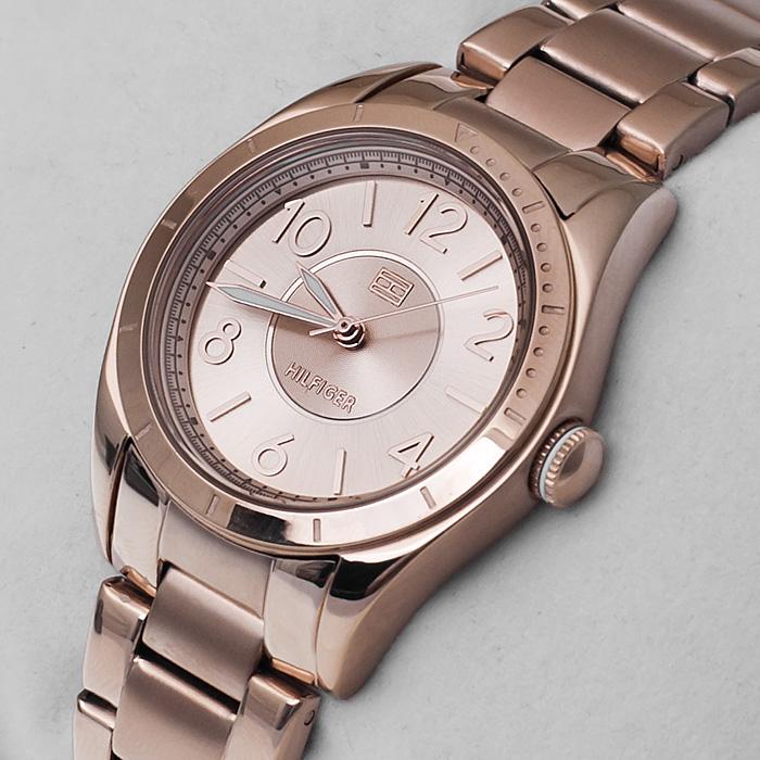 Tommy Hilfiger 1781279 Damskie fashion/modowy zegarek różowe złoto