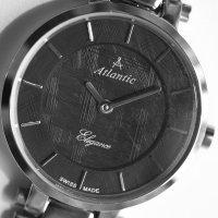 Atlantic 29035.41.61 zegarek srebrny elegancki Elegance bransoleta