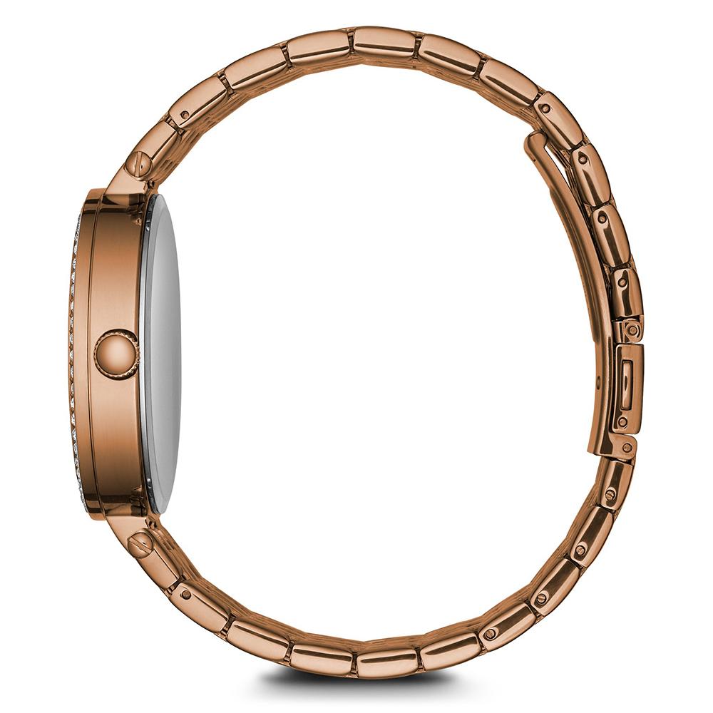 Caravelle 44L236 zegarek różowe złoto fashion/modowy Bransoleta bransoleta