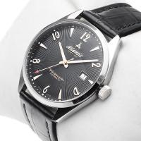 Atlantic 51752.41.65G zegarek srebrny klasyczny Worldmaster pasek