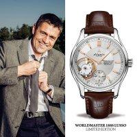 Atlantic 52951.41.21R męski zegarek Worldmaster pasek