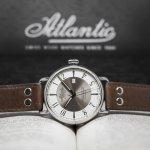 Atlantic 57750.41.25B Worldmaster WORLDMASTER 130TH ANNIVERSARY zegarek męski klasyczny szafirowe