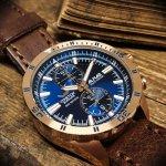 Zegarek męski Vostok Europe  almaz 6S11-320B262 - duże 4