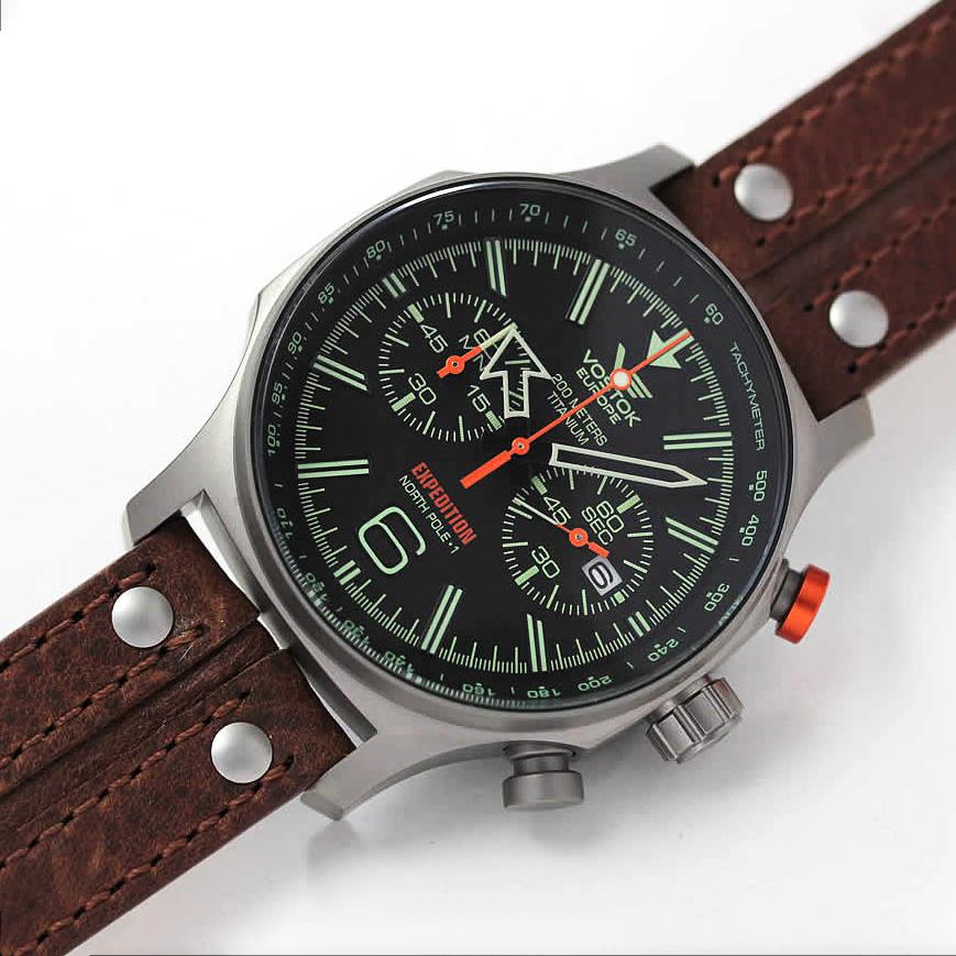 Vostok Europe 6S21-595H299 zegarek męski Expedition