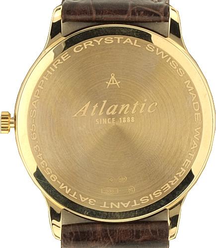 Atlantic 95343.65.21 zegarek złoty klasyczny Seagold pasek