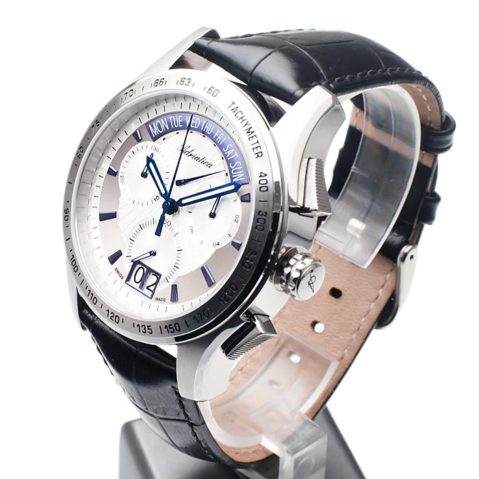 zegarek Adriatica A1160.52B3CHC męski z chronograf Pasek