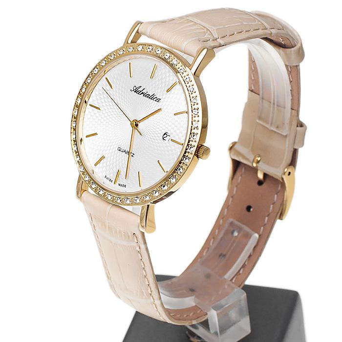 Adriatica A1220.1213QZ damski zegarek Pasek pasek