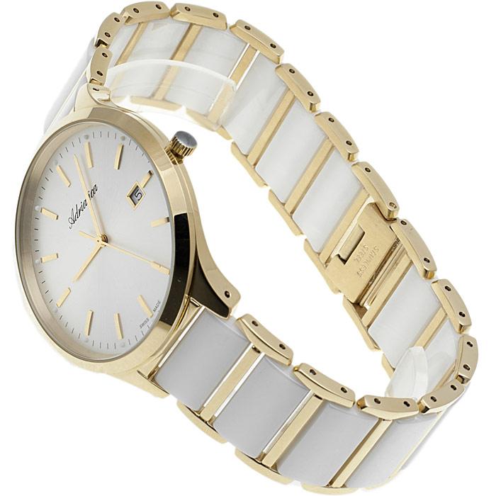 zegarek Adriatica A1249.D113Q złoty Bransoleta