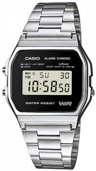 Casio A158WEA-1EF - zegarek męski