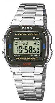 Casio A163WA-1QES - zegarek męski