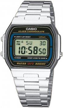 Casio A164WA-1VES - zegarek męski