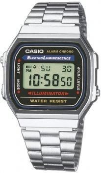 Casio A168WA-1YES - zegarek męski