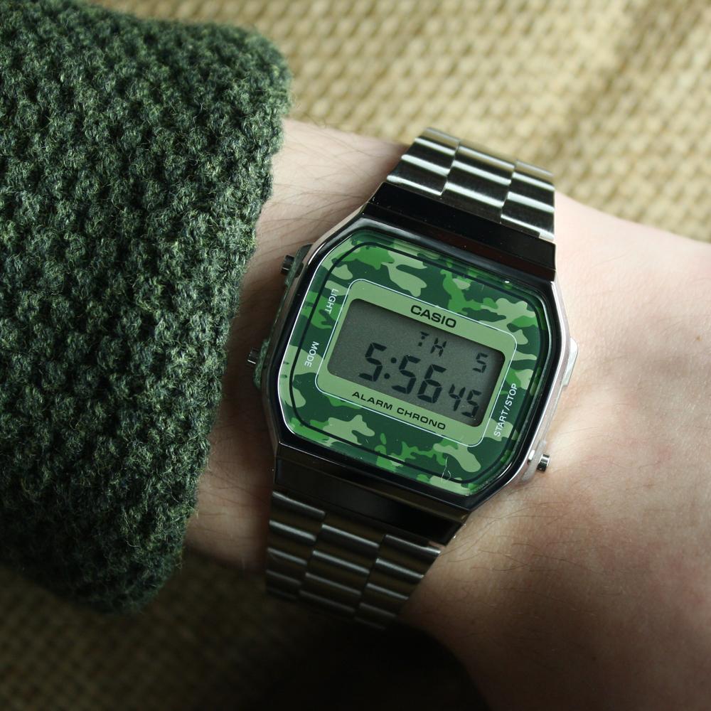 Casio Vintage A168WEC-3EF zegarek dla dzieci VINTAGE Maxi