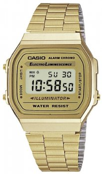 Casio A168WG-9EF - zegarek męski