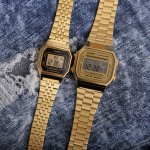 zegarek Casio Vintage A168WG-9EF złoty VINTAGE Maxi