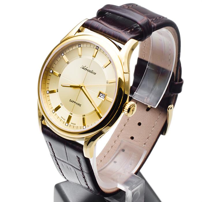 Adriatica A2804.1211Q męski zegarek Pasek pasek