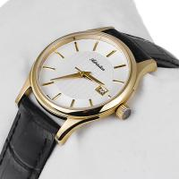Adriatica A3146.1213Q zegarek złoty klasyczny Pasek pasek