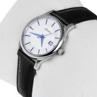 Adriatica A3146.52B3Q zegarek srebrny klasyczny Pasek pasek