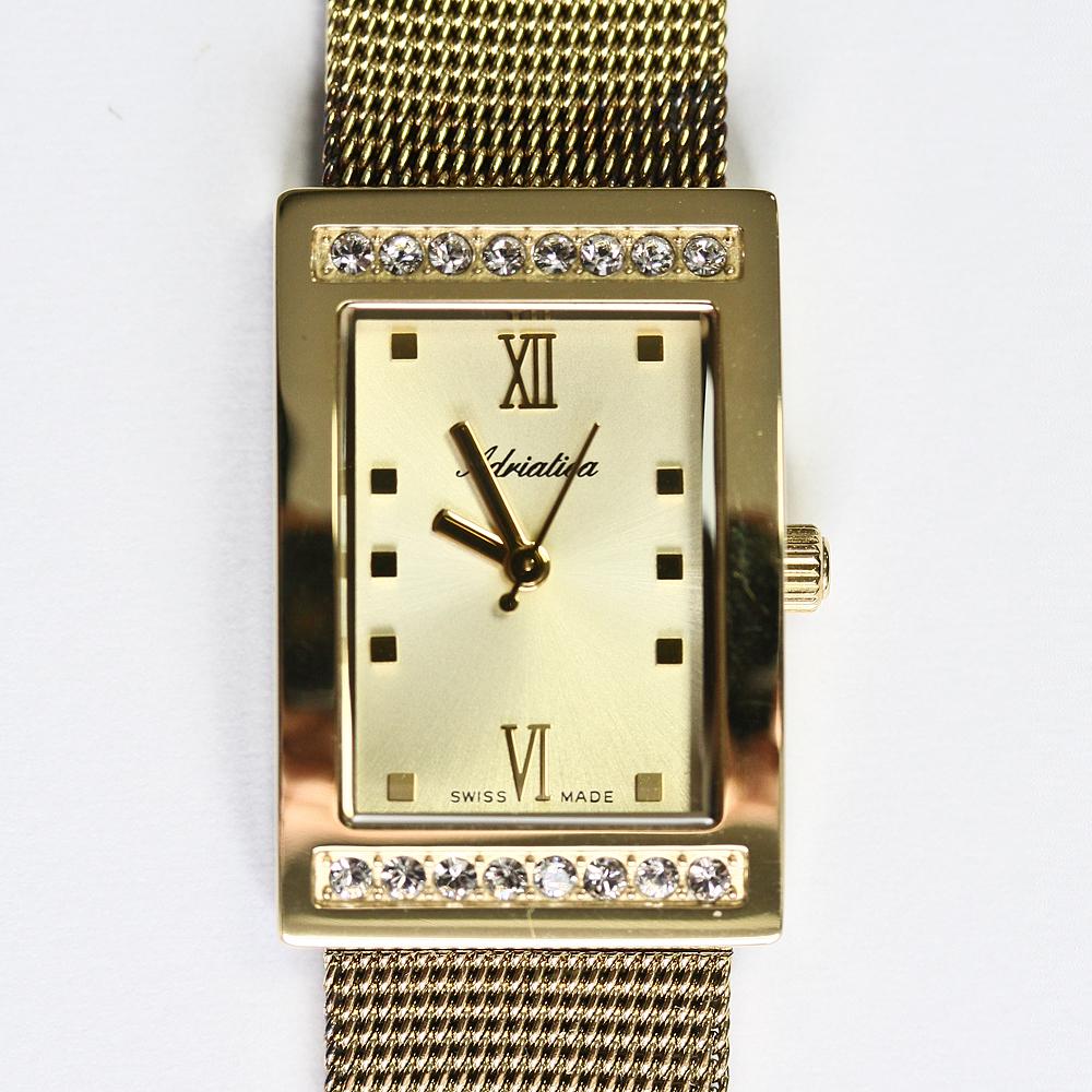Adriatica A3441.1181QZ-POWYSTAWOWY damski zegarek Bransoleta bransoleta