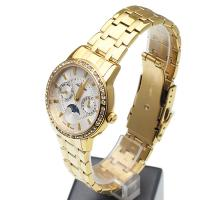 Adriatica A3601.1113QFZ Bransoleta klasyczny zegarek złoty