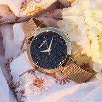 Adriatica A3787.9114Q zegarek różowe złoto elegancki Bransoleta bransoleta