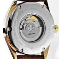 Adriatica A8142.1251A zegarek złoty klasyczny Automatic pasek