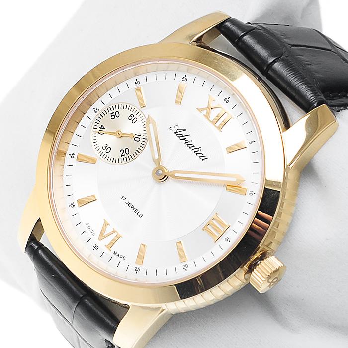 Adriatica A8190.1263M męski zegarek Automatic pasek
