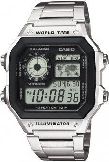 Casio AE-1200WHD-1AVEF - zegarek męski