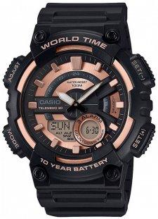 Casio AEQ-110W-1A3VEF - zegarek męski