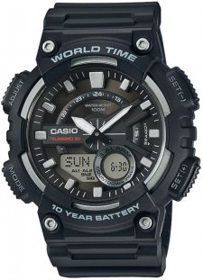 Casio AEQ-110W-1AVEF - zegarek męski