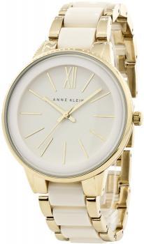 Anne Klein AK-1412IVGB - zegarek damski