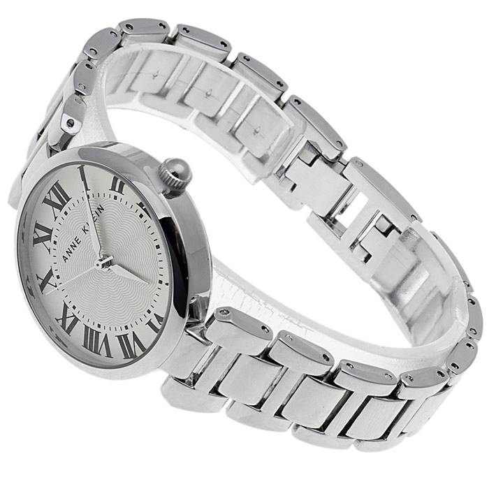 zegarek Anne Klein AK-1429SVSV srebrny Bransoleta