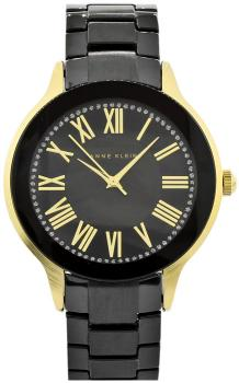 Anne Klein AK-1948BKGB - zegarek damski