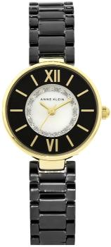 Anne Klein AK-2178BKGB - zegarek damski