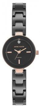 Anne Klein AK-2660BKRG - zegarek damski