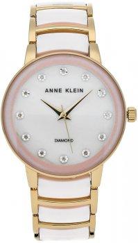 Anne Klein AK-2672LPGB - zegarek damski
