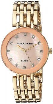 Anne Klein AK-2944PMGB - zegarek damski