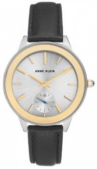Anne Klein AK-2981TTBK - zegarek damski