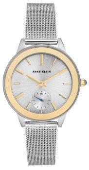 Anne Klein AK-2983SVTT - zegarek damski