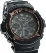 AWG-100BR-1AER - zegarek męski - duże 4