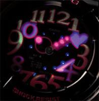 Baby-G BGA-130-1BER damski zegarek Baby-G pasek