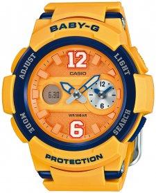 Baby-G BGA-210-4BER-POWYSTAWOWY - zegarek damski