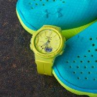 Casio BGS-100-9AER Baby-G Step Tracker Baby-G sportowy zegarek zielony