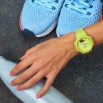Casio BGS-100-9AER zegarek damski Baby-G zielony
