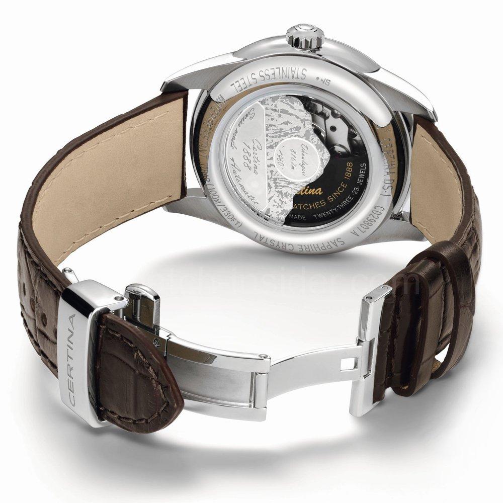 zegarek Certina C029.807.16.031.60 srebrny DS-1