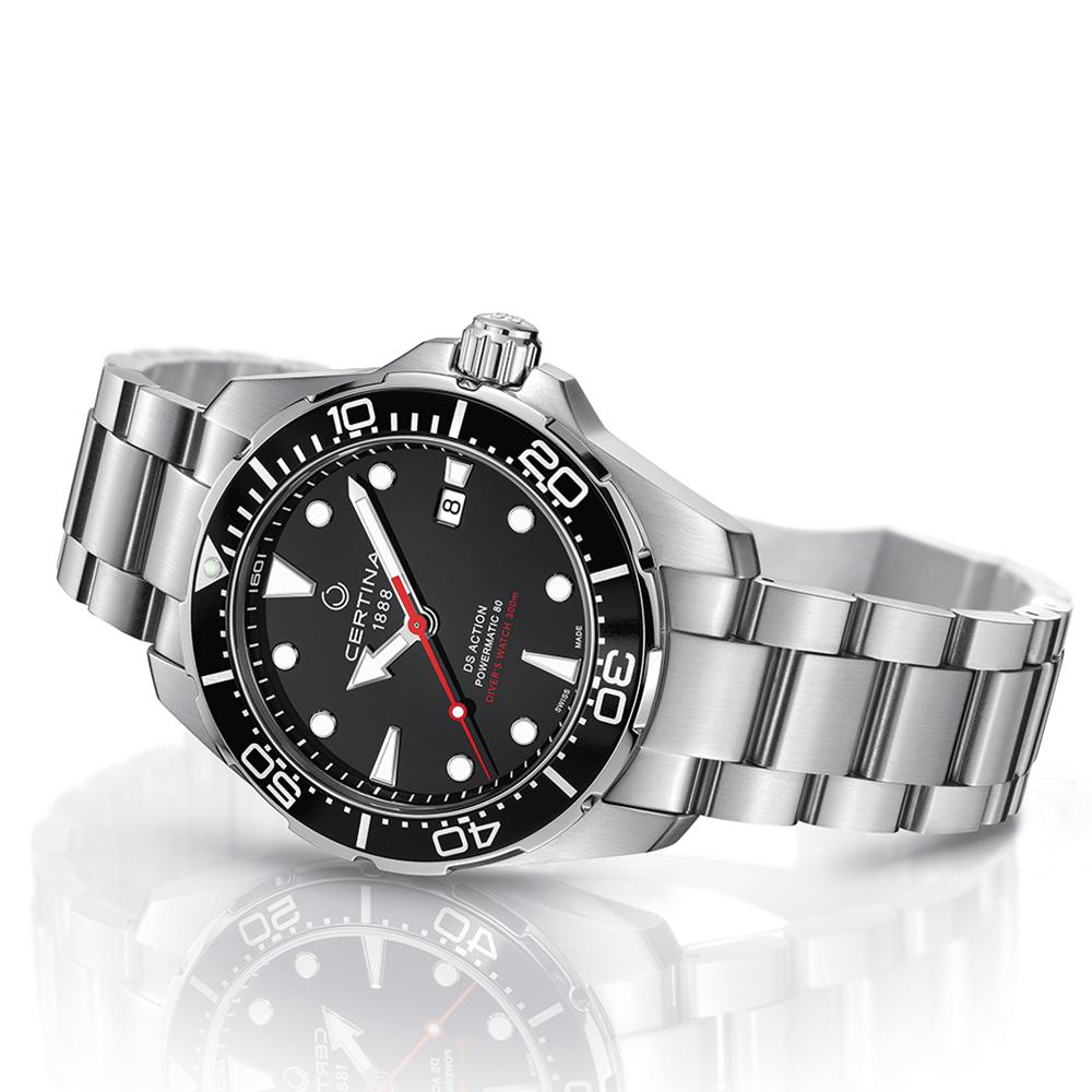 Certina C032.407.11.051.00 DS Action DS Action Diver Automatic zegarek męski sportowy szafirowe