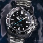 Zegarek Certina DS Action Diver Powermatic 80 Sea Turtle Special Edition - męski  - duże 4