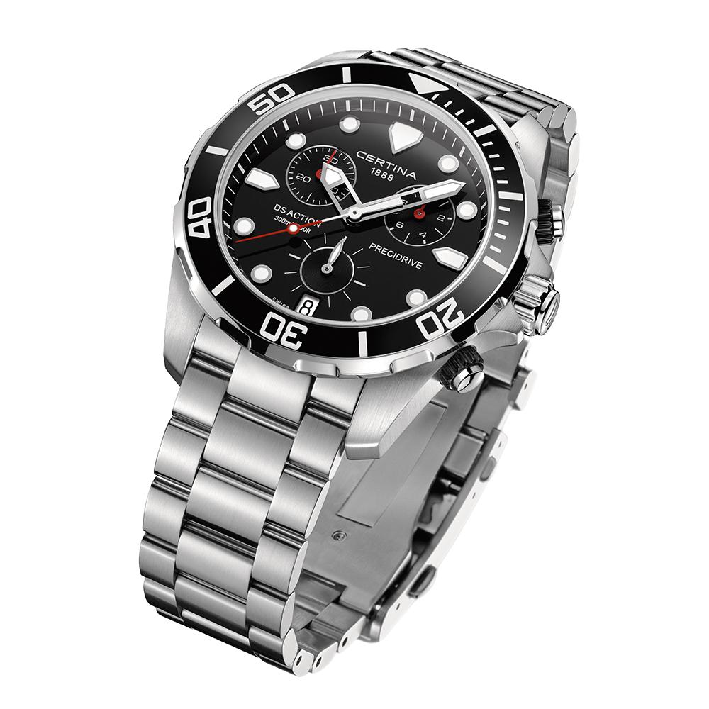 zegarek Certina C032.417.11.051.00 DS Action Chronograph męski z chronograf DS Action