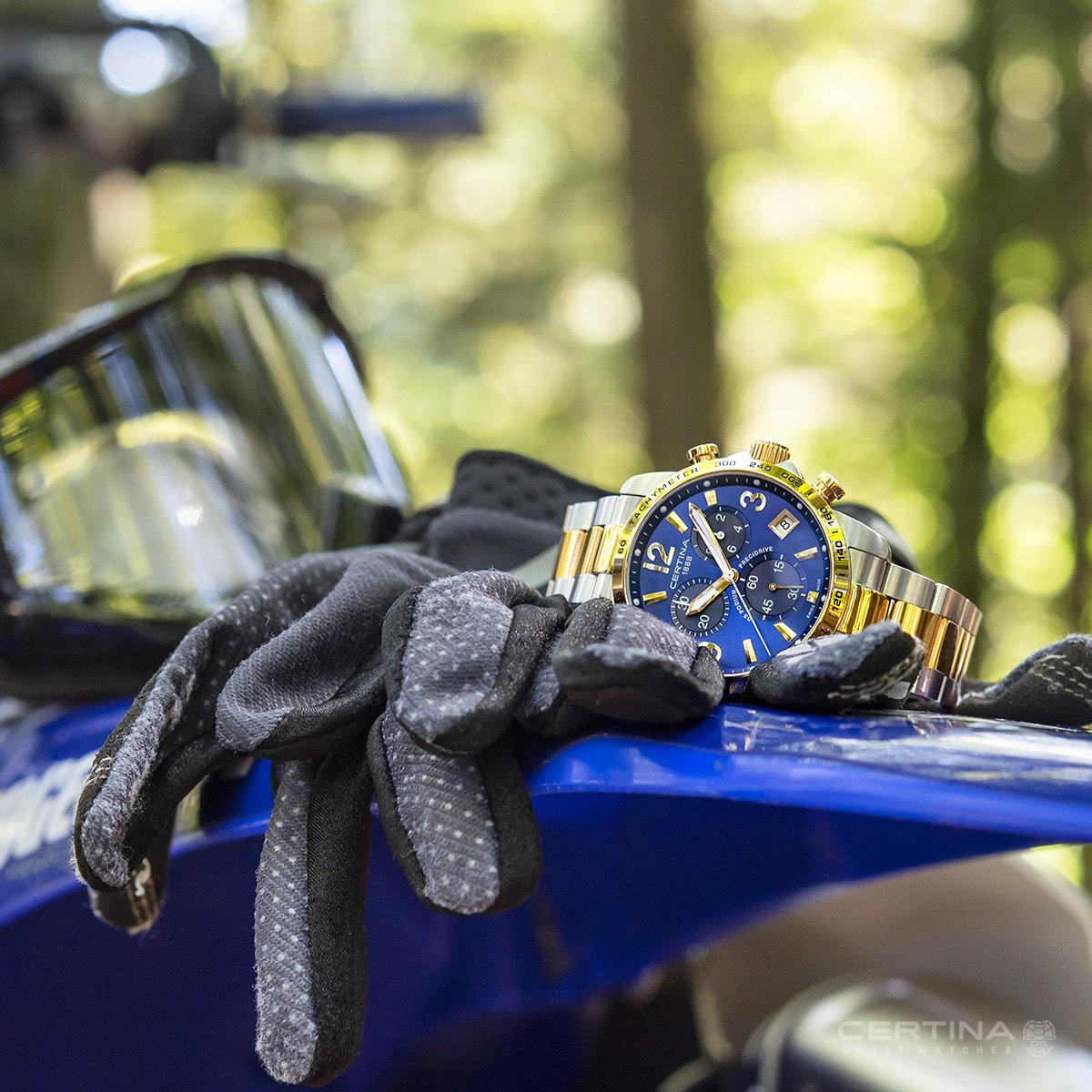 zegarek Certina C034.417.22.047.00 srebrny DS Podium